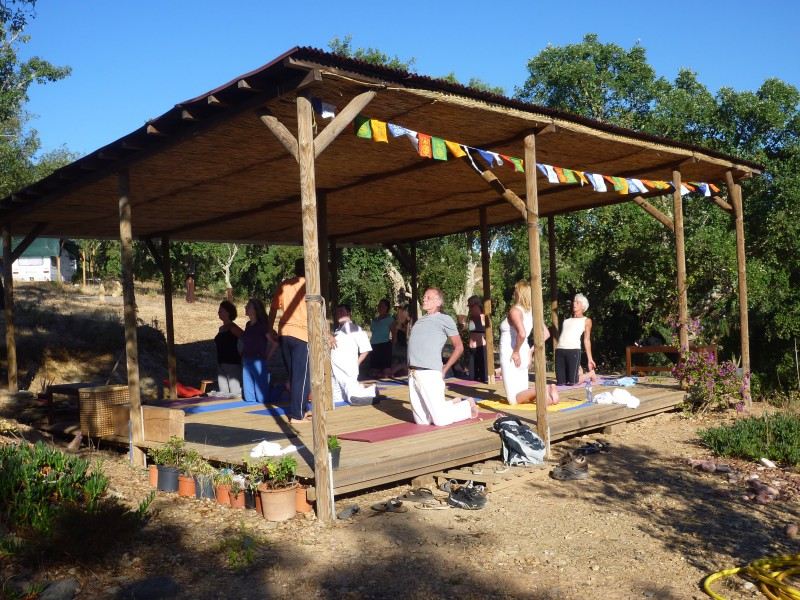 yogavakantie op monte maravilhas