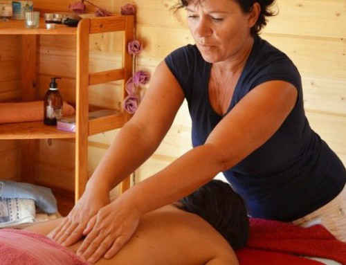 Yoga- en Massage Verwenarrangement