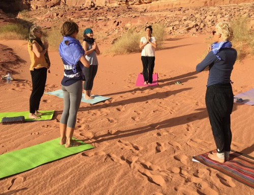 Yoga & Wandel retreat Jordanië 27 november – 4 december